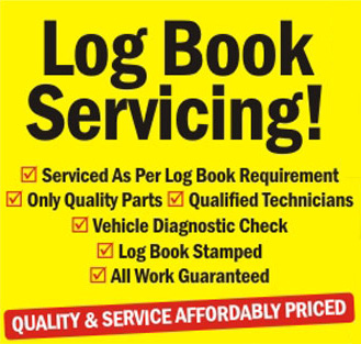 Log book servicing